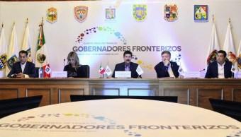 Gobernadores fronterizos solicitarán recursos para atender a migrantes