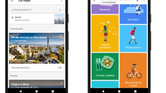 Google Trips te ayuda a planear vacaciones