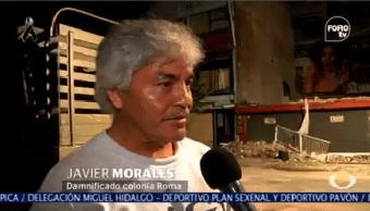 Habitantes Colonia Roma Perdieron Patrimonio Sismo