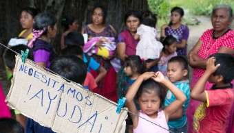 Habitantes de Oaxaca piden ayuda tras sismo
