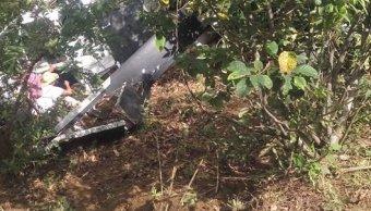 confirman muerto desplome helicoptero ayuda oaxaca