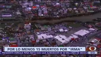 Huracán 'Irma', el más poderoso de la historia en el Atlántico