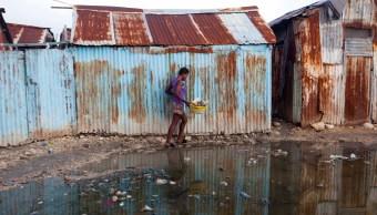 Huracan Irma empieza dejar heridos e inundaciones Haiti