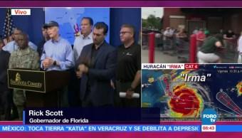 Huracán Irma Azota Playas Florida