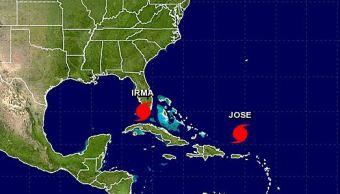 Huracán José avanza a aguas abiertas del Atlántico como categoría 4