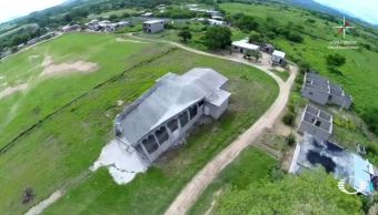 replicas sismo derrumban templo cintalapa chiapas