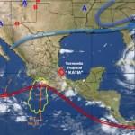'Katia' generará lluvias y vientos fuertes en gran parte del país este sábado