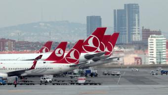 Imagen de archivo de aviones de Turkish Airlines