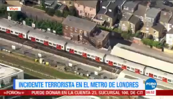Incidente Terrorista Metro Londres Incidente Terrorista