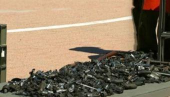 Inicia campaña de canje de armas en 24 municipios de Sonora