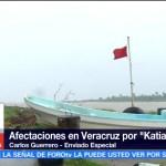 Inicia, reconstrucción, Veracruz, Katia