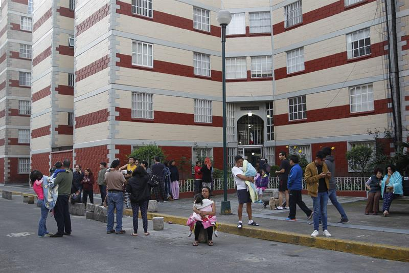 Inmuebles afectados en la Ciudad de México, tras sismo