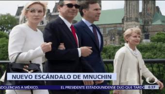 Investigan Secretario Tesoro Estados Unidos Steve Mnuchin