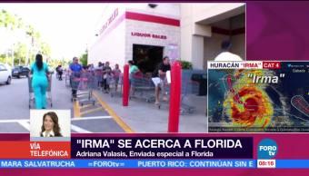 Irma Pierde Fuerza Cuba Dirige Florida