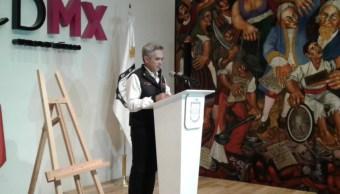 Mancera anuncia comisión para transformar a CDMX 'en una ciudad más resiliente'