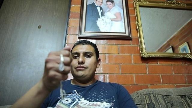 Jesús Francisco, bebé milagro del sismo de 1985, pierde casa en 2017