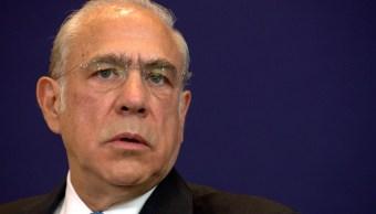 José Ángel Gurría expresa apoyo a México