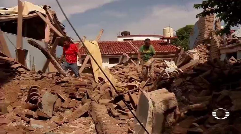 sismo deja juchitan oaxaca bajo escombros
