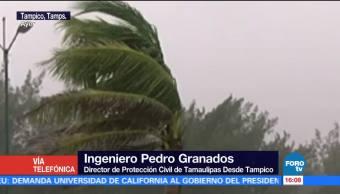 'Katia' provoca fuertes lluvias en Tamaulipas