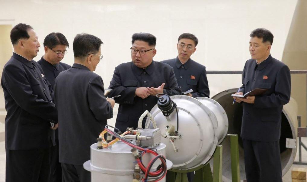 corea norte bomba hidrogeno misil kcna