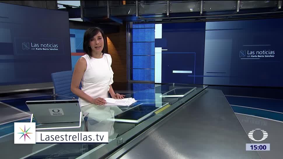 Las noticias, con Karla Iberia Programa del 18 de septiembre de 2017
