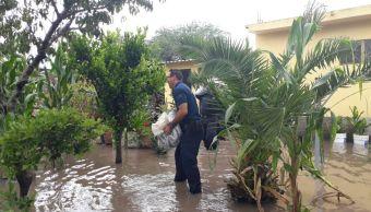 Lluvias causan afectaciones en Penjamillo, Michoacán