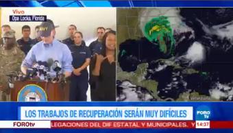 Vimos Irma Espantoso Gobernador Florida Gobernador De Florida Rick Scott