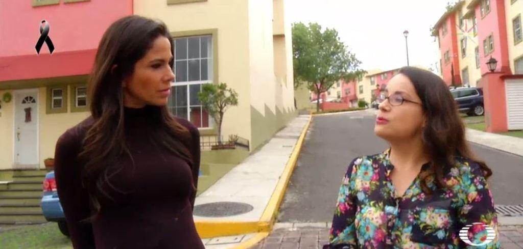 Lucy Zamora cuenta su experiencia a Paola Rojas