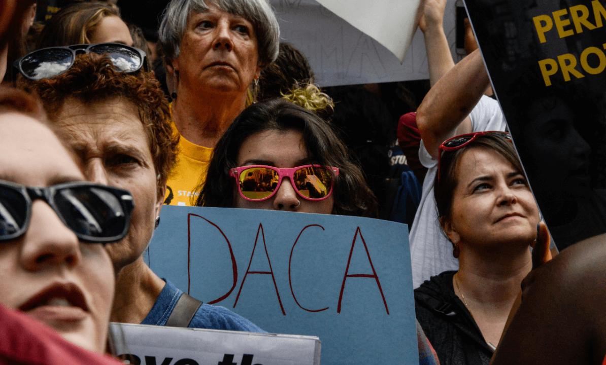 Manifestación a favor del DACA en NY