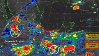 Se pronostican lluvias para la CDMX este domingo