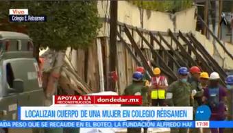 Marina Confirma Localización Cuerpo Colegio Rébsamen