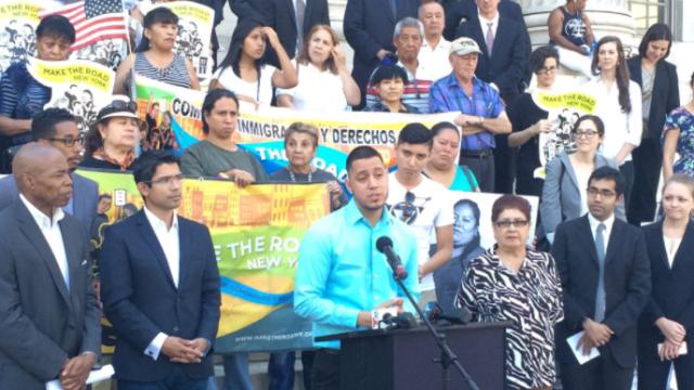 Martín Batalla Vidal, dreamer mexicano, cuando presentó demanda contra derogación del DACA