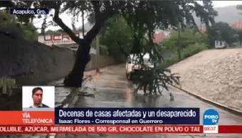 Max Deja Decenas Casas Afectadas Guerrero