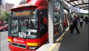 metrobus mantiene servicio parcial tras sismo