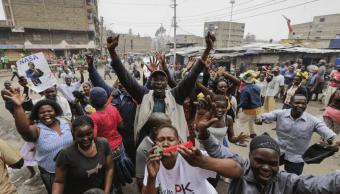 Miles de personas celebran en Kenia la anulación del resultado electoral