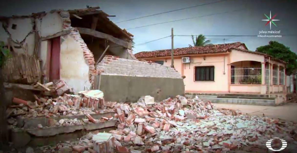 Mixtequilla, Unión Hidalgo y Chicapa afectados por sismo