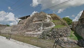 observatorio maya venus yucatan inah antropoligia