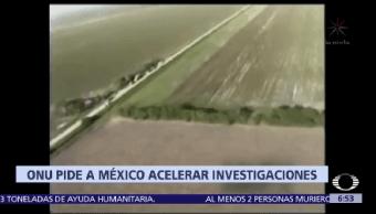 Onu México Acelerar Investigación San Fernando Cadereyta