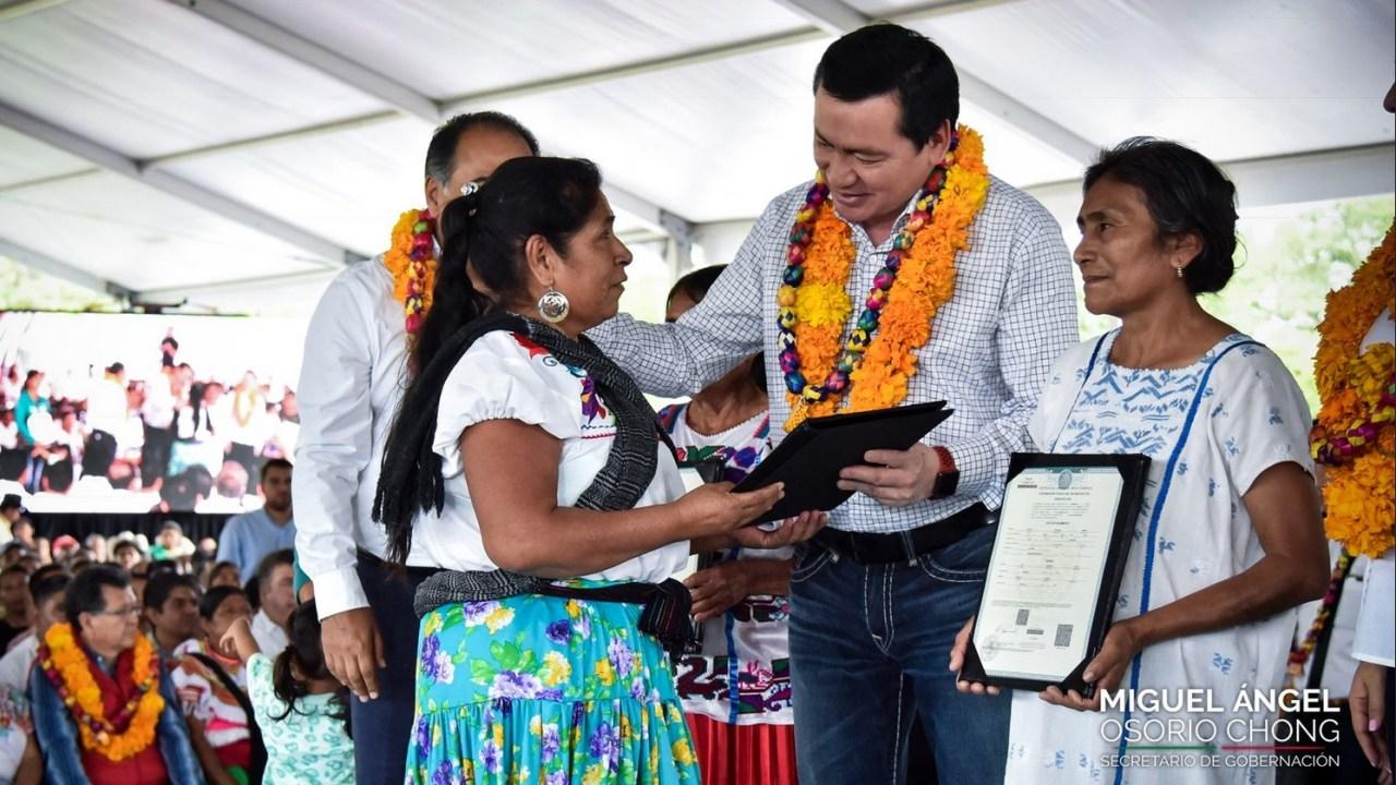 Osorio Chong tiene disposición para atender llamado Congreso