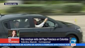 Papa Francisco Concluye Visita Colombia