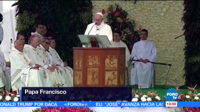Papa Francisco Mensaje Paz Colombia Guerrilla