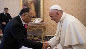 México cancela festejo de relaciones diplomáticas con el Vaticano por sismo