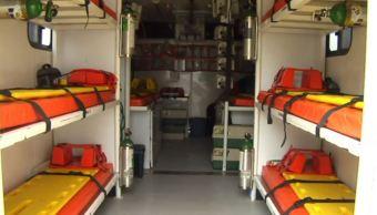 Paramédicos de Puebla diseñan unidades médicas de multiatención de incidentes