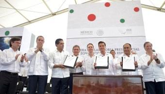 Nuevas Zonas Económicas Especiales generarán 12,000 empleos: Enrique Peña Nieto