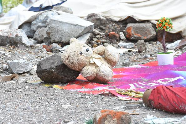 pertenencias de las victimas del sismo en mexico