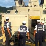 plan marina zarpa con ayuda rumbo a salina cruz, oaxaca