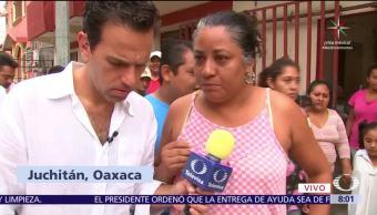 Pobladores, Juchitán, piden, ayuda