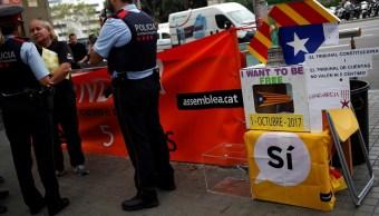 España ordena a policía catalana frustrar referéndum independentista