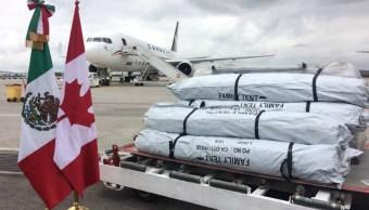 Embajada de Canadá en México, Tiendas de Campaña, Damnificados, Sismo, Canadá, 19s