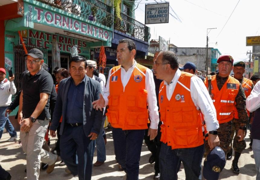 Así dejó a Guatemala el terremoto de México